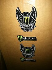 100-PCS---Monster Energy Sticker  Monster Army 2 DECALS in 1    3'' X 4.5 ''