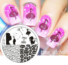 Nagel Schablone Nail Art Stamp Stempel Template Plates BORN PRETTY BP69