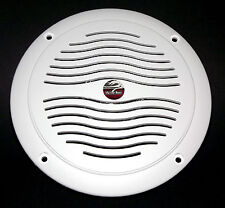 "5"" Dual Cone Waterproof Marine Speaker - 5 Inch Round Integral Grill Spa RV Boat"