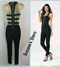NWT bebe CAGE BACK JUMPSUIT SIZE S A stunning one piece is an immediate way to