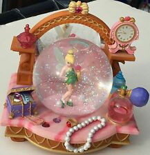 SALE - Disney TINKERBELL 2nd Star to the Right - Music Box SnowGlobe