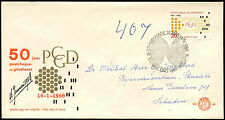 Netherlands 1968 Postal Cheque & Clearing Service FDC First Day Cover #C27320