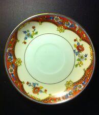 Noritake Madeira Pattern Saucer white w/ flower pattern  Japan, vintage