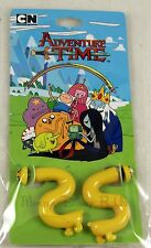 Adventure Time With Finn and Jake Tunnel Earrings Dog S-Shape Design NEW