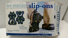 Perfect Solutions Ice and Snow Traction Slip Ons Men's Size 8-12 NOS