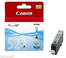 Genuine Canon CLI-521C Cyan Ink Cartridge for Pixma iP3600 iP4600 iP4700