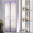 90x210cm Magic Mesh Hand-Free Screen Door Curtain with magnets Anti Bug Mosquito