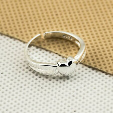 925 Sterling Silver plating Solid fashion jewelry Ring Wholesale SIZE OPEN J7