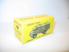 n38, boite mercedes unimog 821  repro DINKY TOYS militaire