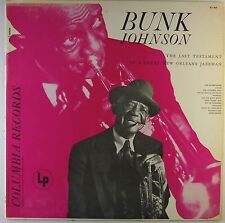 "12"" LP - Bunk Johnson -  A Great New Orleans Jazzman - L5409h - RAR"