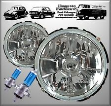 Vw Camper Westfalia Kombi T2 Crystal Clear 50% Brighter Xenon Upgrade Headlights