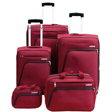 """American Tourister Glider 5Pc Spinner Luggage Set 28"""", 24"""", 20"""" & More"""