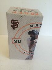 NIB SF Giants Matt Duffy Bobblehead doll SGa game giveaway 4/23/16