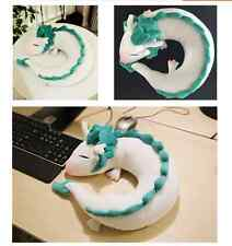 Anime Miyazaki Hayao Spirited Away Haku Cute Doll Plush Toy Pillow Neck U-Shape
