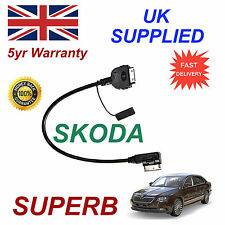 SKODA SUPERB MMI AZO800001 iPhone iPod 3gs 4 4s Cable replacement