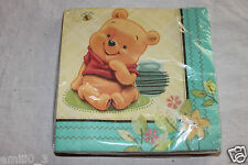 NEW WINNIE THE POOH HONEYPOT DESSERT NAPKINS  PARTY SUPPLIES