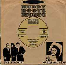 ROCKABILLY: WANDA JACKSON-Riot In Cell Block #9/HEAD CAT - Well All Right