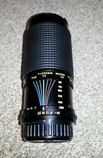 Marexar CX Zoom 1:4.5 f=80-200mm Multi Coated SLR Camera Lens / Free Gift