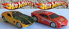 Hot Wheels - Ford Shelby GR-1 Concept & Ferrari F430 Challenge - Rubber Tires