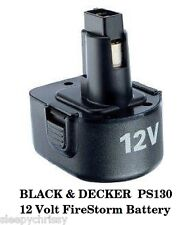 BLACK & DECKER  PS130 12 Volt FireStorm Battery - NEW