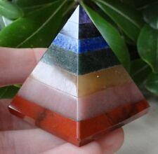 Seven Chakra Pyramid 50grm to 70grm