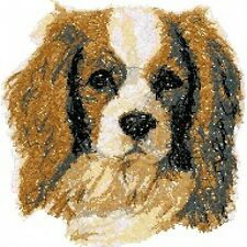 Embroidered Long-Sleeved T-Shirt - Cavalier King Charles Spaniel Aed14478