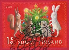 Finland 2008 Used Stamp - Christmas - First Day Cancel