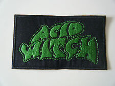 ACID WITCH PATCH Embroidered Iron On Sleep Stoner Doom Monkey King Badge NEW