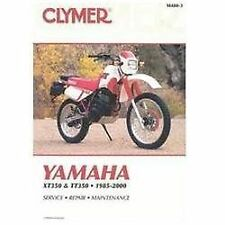 Yamaha XT350, 1985-2000, and TT350, 1986-2000 by Clymer Publications Staff...