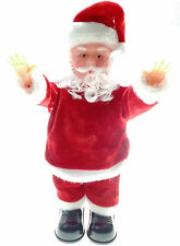 Father Christmas Singing Dancing Santa Clause Gift Toy Xmas Animated Novelty