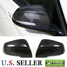 Real Carbon Fiber Mirror Cover Replacement For 14-17 BMW F22 228i M235i F87 M2