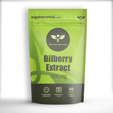 BILBERRY EXTRACT 1000mg 180 CAPSULES, Eye care, health tablets