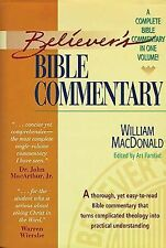Believer's Bible Commentary by William MacDonald (1995, Hardcover)