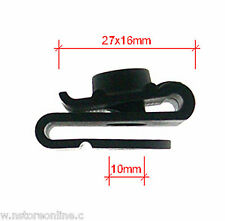 Auto clips  European Cars - Wheel Fender S Pad  x10 No:10124 Car Clip