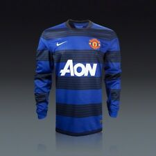 Authentic Nike Niño Del Manchester United Away Shirt 2011/12, 13-15 Años