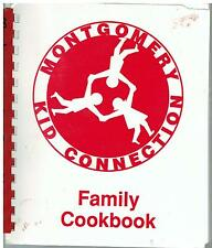 *BELLE MEADE NJ 1991 MONTGOMERY KID CONNECTION FAMILY COOK BOOK *NEW JERSEY RARE