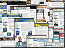 47 Turnkey Websites with Adsense, ClickBank Amazon Optimized PHP w Resell Rights