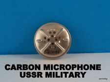 CARBON MICROPHONE MK-16-U-MB-U SOVIET MILITARY  FROM FIELD AND OTHERS PHONE NOS