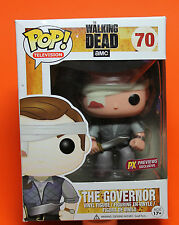 FUNKO POP TELEVISION THE WALKING DEAD #70 THE GOVERNOR PX PREVIEWS (BANDAGE)  !!