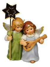 """Goebel Weihnacht Engel """" Engelpaar mit Gitarre """""""