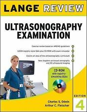 Lange Review Ultrasonography Examination with CD-ROM, 4th Edition LANGE Reviews