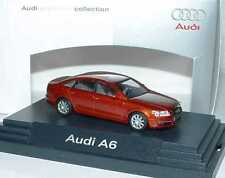 1:87 Audi A6 C6 canyonrot rot red - Dealer-Edition OEM - Busch 5010406142