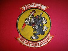 US Air Force Patch 319th FIGHTER INTERCEPTOR Squadron In Korean War (1950-1953)