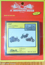 JL Innovative Design #907 Classic US Military Motorcycles (Unfinished)Lt Cast