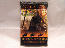 LORD OF THE RINGS TCG RETURN OF THE KING SEALED PACK OF 11 CARDS