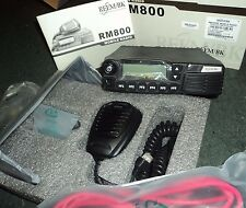 NEW RMV800 VHF Radio 50 Watts RELM RM800 136  172 mhz FREE PROGRAM Fire Rail EMS