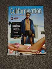 CALIFORNICATION : THE FIRST SEASON (1st) DVD BOXSET IN VGC (FREE UK P&P)