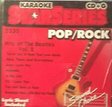 Karaoke Star Series #2330  Hits of The Beatles Vol.2 + Lyric Sheet  CD Album VGC