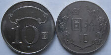 Taiwan 10 Yuan coin 2 pcs 2 series