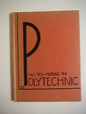 Vintage Polytechnic High School Fall'45 & Spring '46 Yearbook-San Francisco, CA